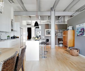 Delightful Industrial Style Apartment On The Sixth Floor Design Inspirations