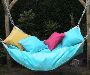 Beanock – a beanbag hammock