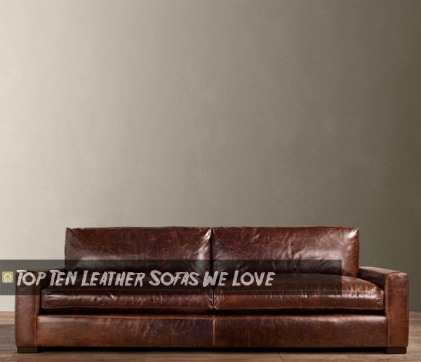 Beau Maxwell Leather Sleeper Sofa. View In Gallery
