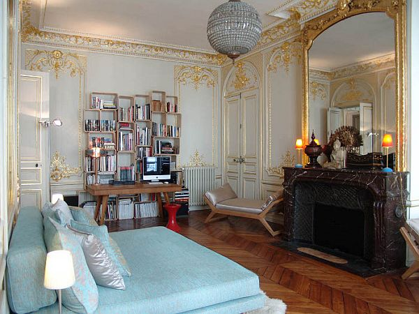 french rococo fireplace fabulous french apartment interior design