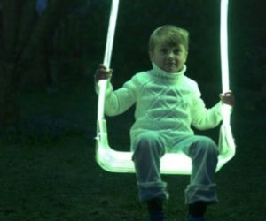 Outdoor LED swing