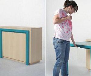 Convenient Table Cabinet From Attua Aparicio Torinos