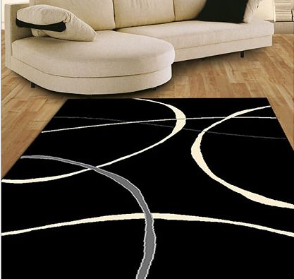 Contemporary Terra Luna rug
