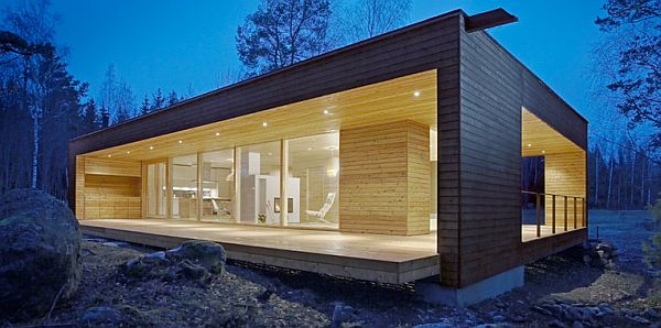 modern mobile home design.  Fabulous Manufactured Home in Spain by plusarkkitehdit