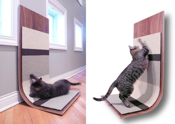 modern cat furniture modern critter cat scratcher 11475