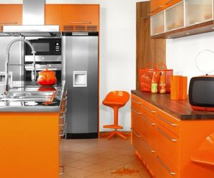 Orange Kitchens Inspiration Ideas
