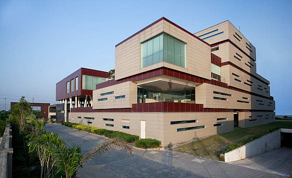 Corporate office building in india for Architecture design for home in noida