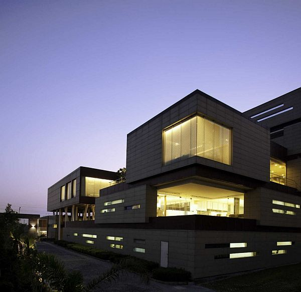 corporate office building in india