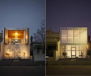 Contemporary Perforated House by Kavellaris Urban Design