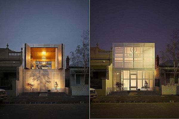 Contemporary perforated house by kavellaris urban design for Urban home plans