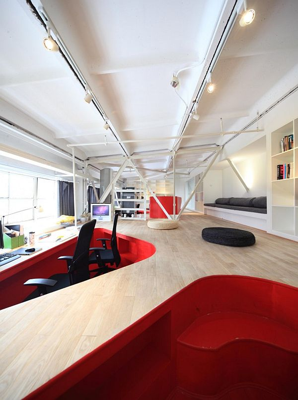 The Red Town Office in Shanghai