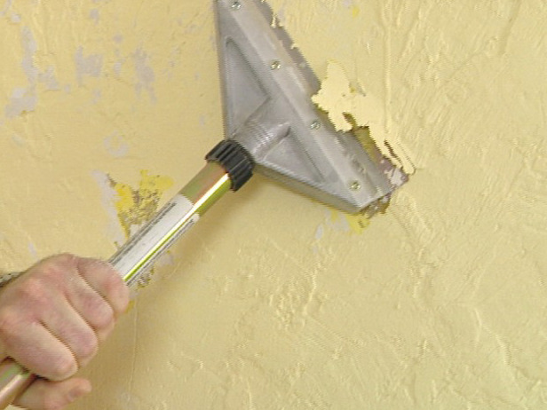 Remove Paint Before Plastering