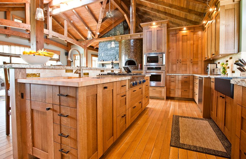 Design In Wood What To Do With Oak Cabinets: How To Design A Kitchen With Oak Cabinetry