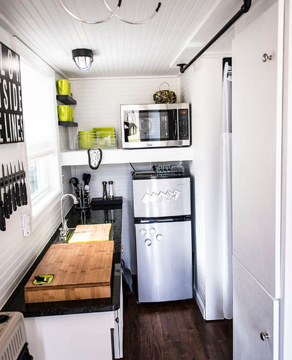 Smart Ways To Organize A Small Kitchen