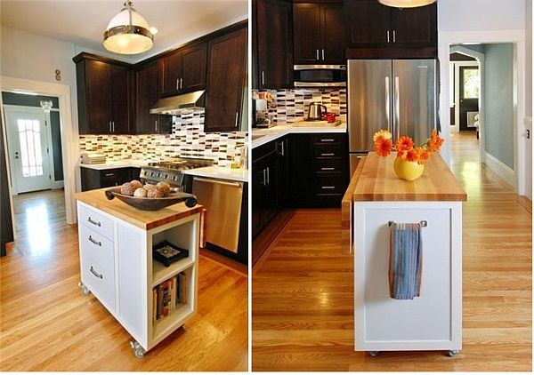Small kitchen on budget but big on style for Small kitchen decorating ideas on a budget