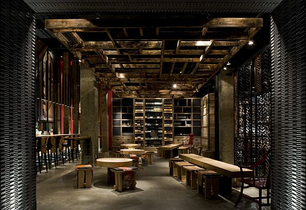 Sophisticated Ame Restaurant Design In Toronto