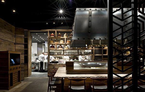 Sophisticated ame restaurant design in toronto for Best restaurant interior designs in the world