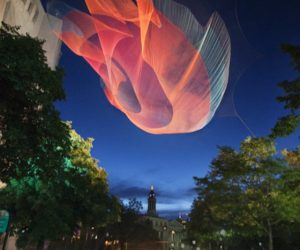 Unusual sculptures by Janet Echelman