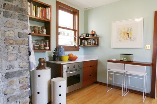 breakfast bar for small kitchen.  Small kitchens with breakfast bars