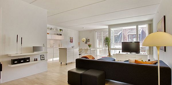 apt interior design splendid white pure interior design apartment in denmark