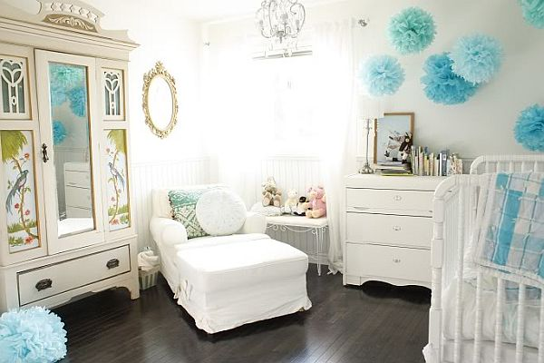 Three ideas for arranging the baby 39 s room - Sillones habitacion bebe ...