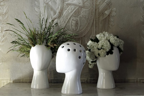 Original Wig Vase By Tania Da Cruz