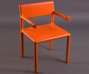 Welcoming Arms Chair by Oleksandr Shestakovych