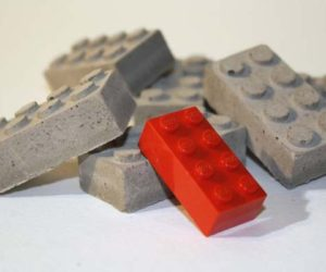 Concrete Lego blocs by Studio 1015′s Etsy store