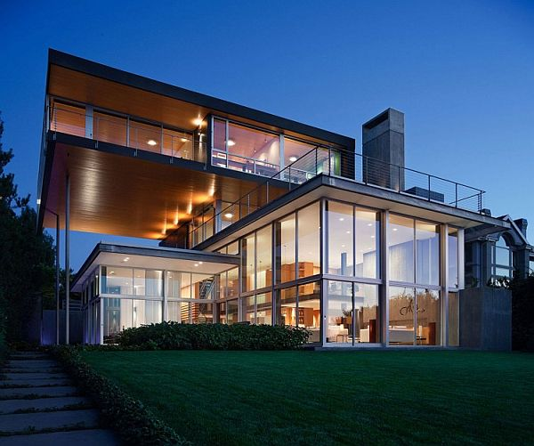 Beautiful Contemporary House by E. Cobb Architects