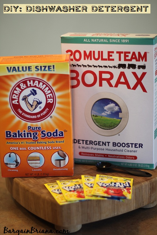 DIY Dishwasher Detergent Recipe