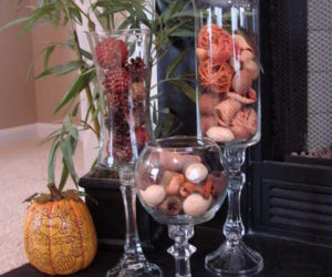 Beautiful DIY Hurricane Vase