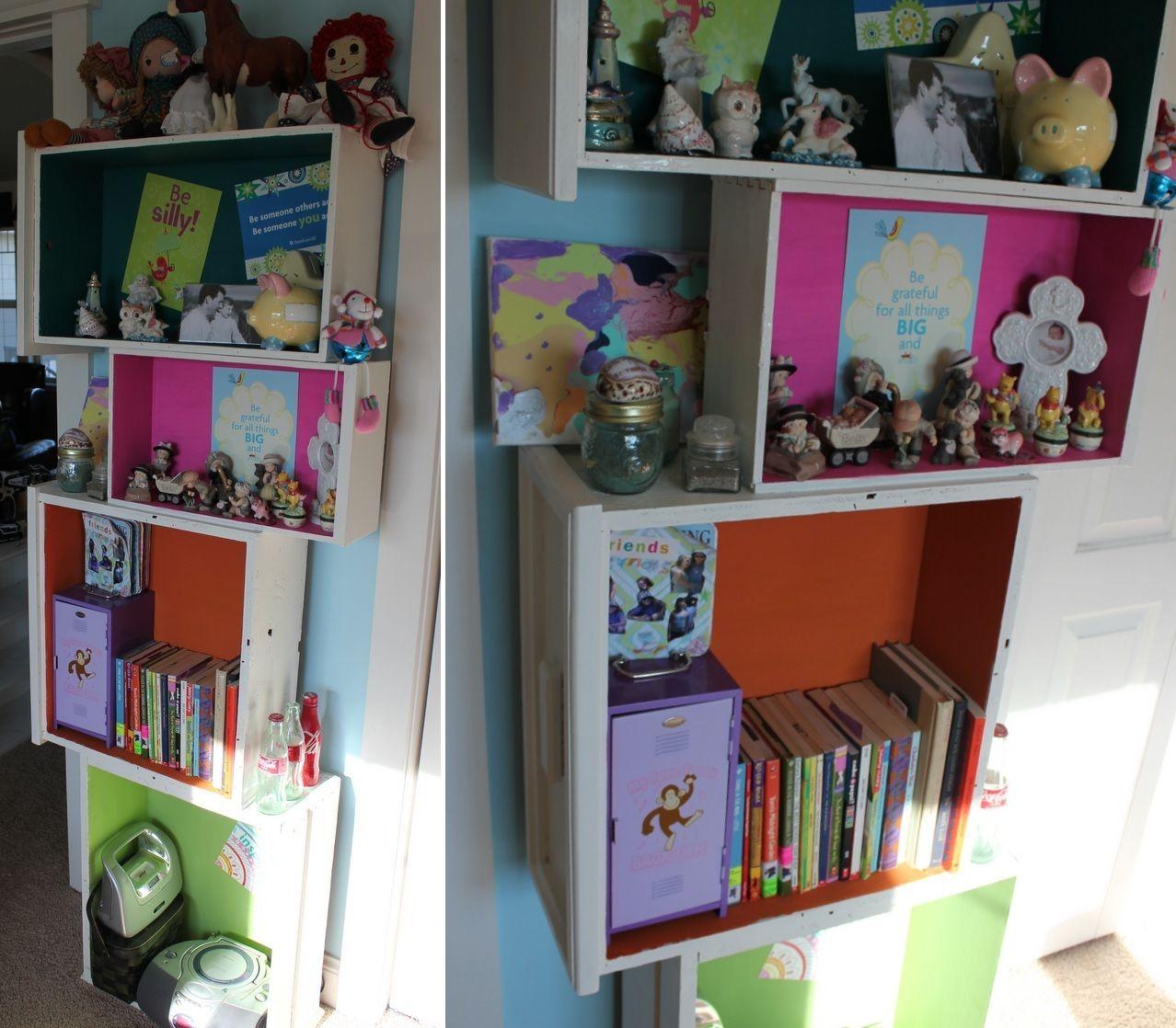 Drawer shelf for kids