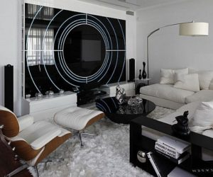 Gorgeous Island Apartment in Moscow by Geometrix Design