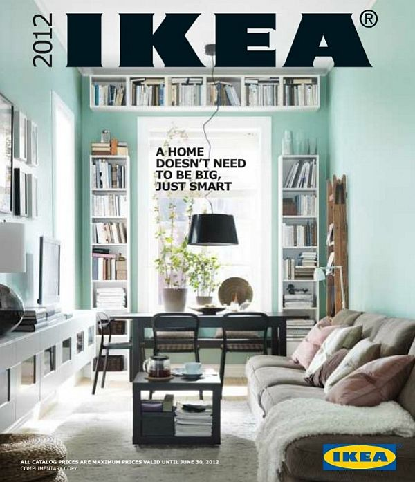 The New IKEA 2012 Catalog
