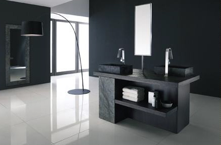 Contemporary bathroom vanities and cabinets for Bathroom cabinets modern