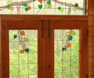 ... Home · Stained Glass Front Doors