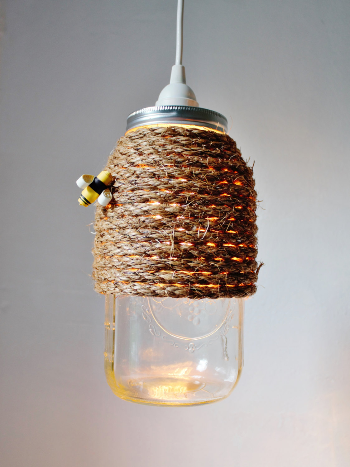 Turning mason jars into light fixtures how to make a mason jar chandelier with vintage charm arubaitofo Gallery