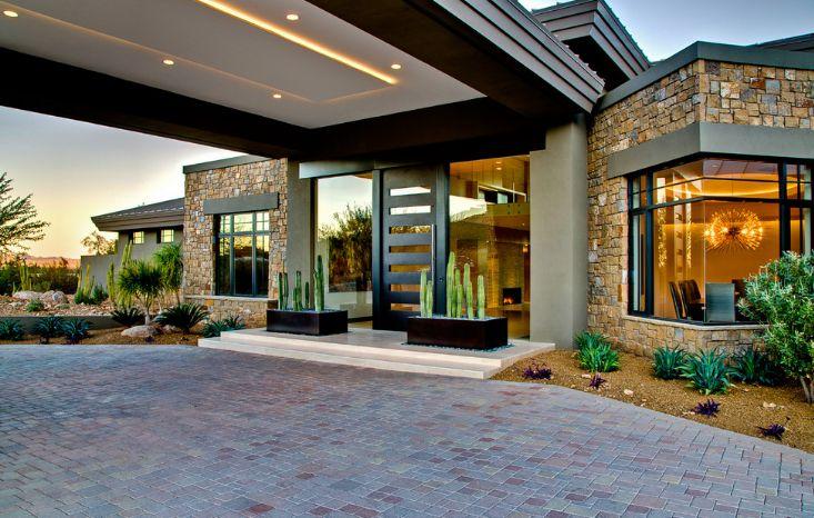 Modern front house design