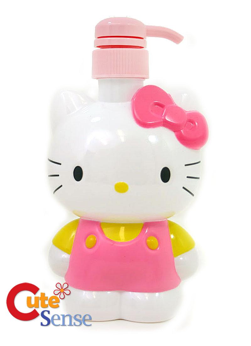 Hello Kitty Figure Soap Pump Dispenser