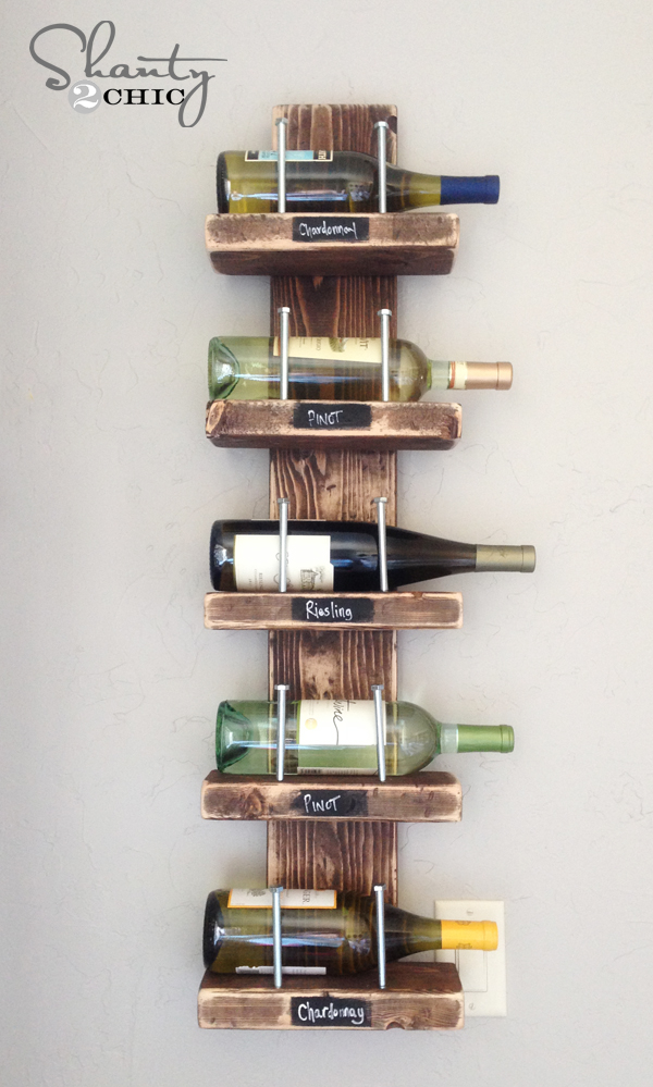 Simple Wine rack project