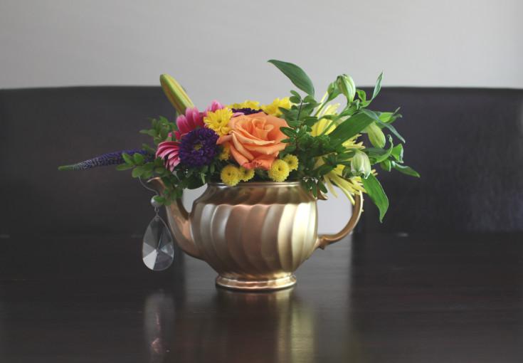 Teapot vases