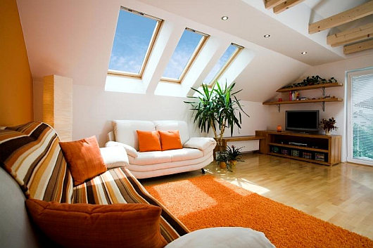 Attic space makeovers how to raise the standards for Patio arredamenti