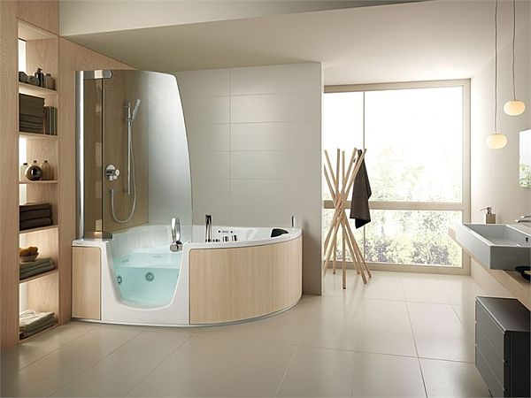 Great 383 U2013 Bathtub And Shower Combination By Lenci Design Good Ideas