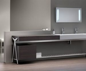... Contemporary Bathroom Vanities And Cabinets