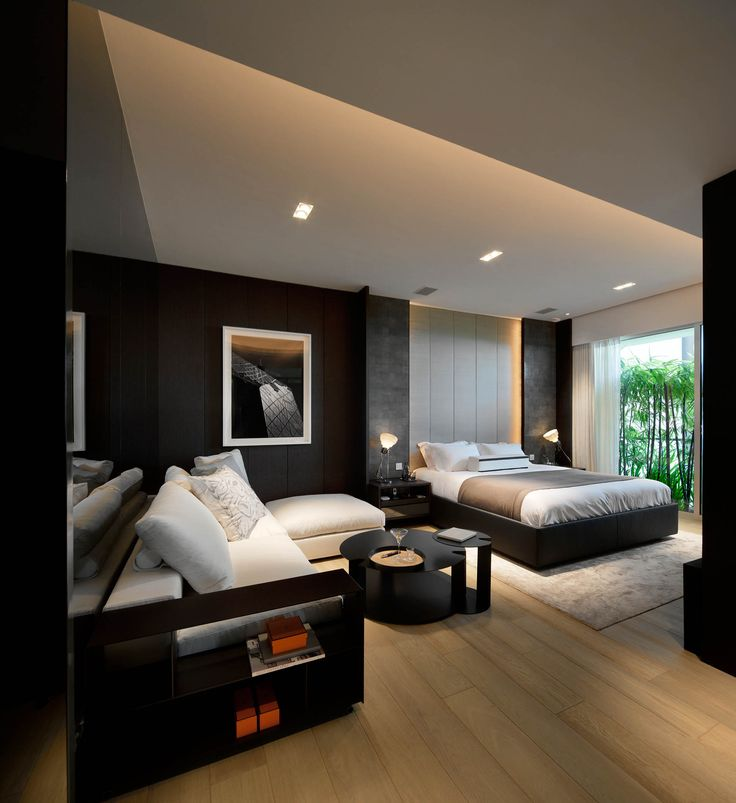 How to plan and design a contemporary bedroom - How to decorate a modern bedroom ...