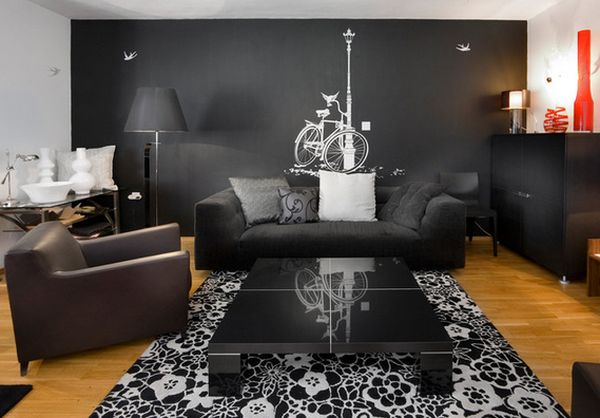 come to the dark side – displaying artwork on black walls
