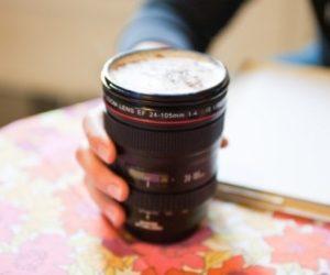 Practical Camera Lens Mugs