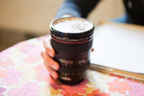 Attractive Practical Camera Lens Mugs Good Looking
