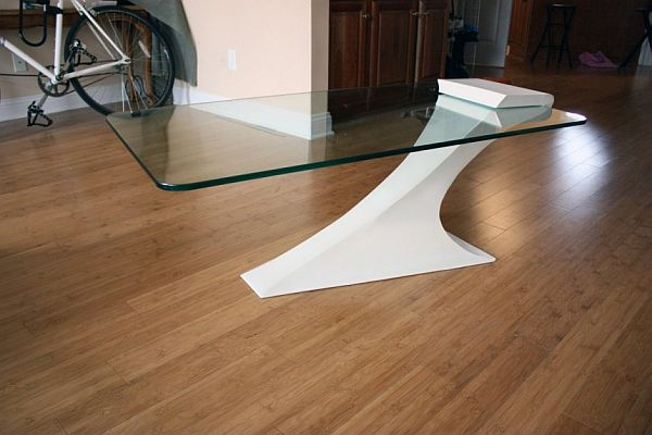 Unconventional Cantilevered Table By Brian Kuchler