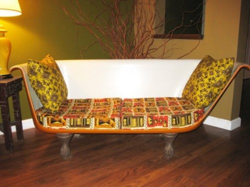 View in gallery & Original Cast Iron Bathtub Couches